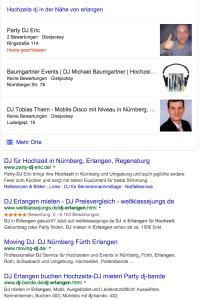 Marktanalyse, um DJ-Konkurrenz zu finden und Wettbewerb im Netz zu beurteilen