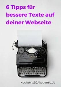Spickzettel 6 Tipps für bessere Texte auf deiner Webseite