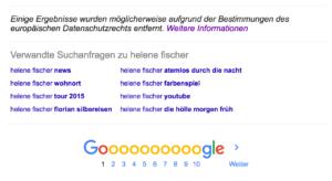 Google entfernt Webseiten nach DMCA-Beschwerde