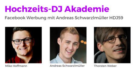 Facebook Werbung als smartes Marketing mit Tricks von Andreas Schwarzlmüller HDJ59