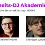 Der DJ und die Steuererklärung: Umsatzsteuer, Einkommenssteuer und Gewerbesteuer | Hochzeits-DJ Akademie Podcast Folge HDJ69