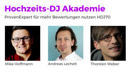 Wie nutzt du das ProvenExpert Siegel für mehr Bewertungen mit Andreas Lechelt HDJ70